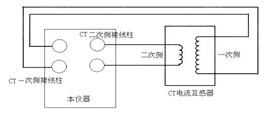 电压互感器接线 1a 1n