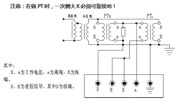 7电压互感器校电压互感器接线图